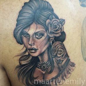 girls with tattoos design by maarten