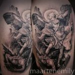 religious tattoos black and gray by maarten