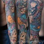 tattoos design by maarten, japanese sleeve