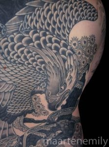 tattoos design by maarten japanese backpiece