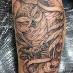 tattoos design by maarten 1 needle owl in the wind