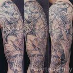 tattoos on hot tattoo angel chick
