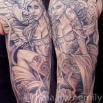 tattoos on tattoos hot angel by maarten