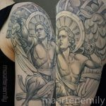 tattoos design by maarten 1needle black and gray